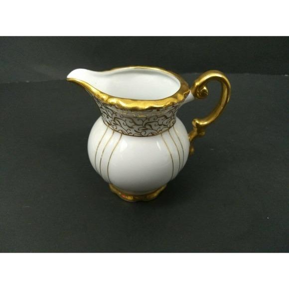 Vtg Seyei Demitasse Renaissance Tea Set Creamer